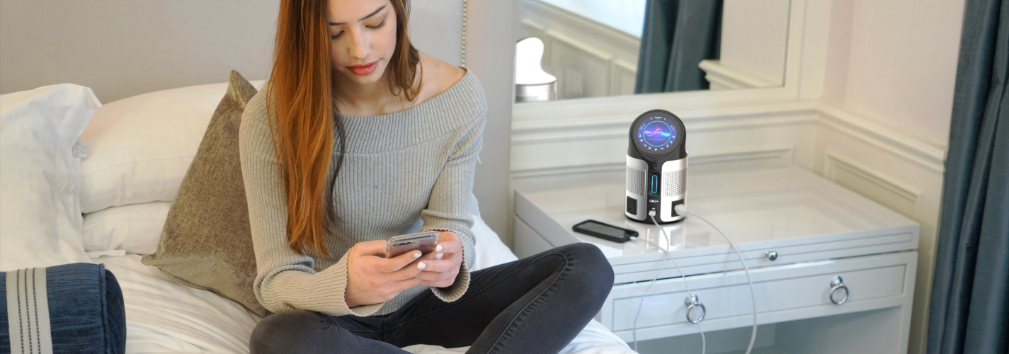 Guest Experience, Hotel Guest, CIRQ+, Energy Management System, Smart Room Technology, Sustainability Technology, Alexa Capable, Blue Tooth Speaker, Touchscreen, Voice Capabilities, Hospitality Technology